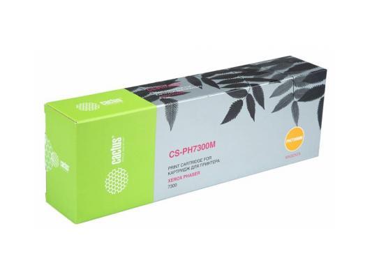 Тонер-картридж Cactus CS-PH7300M 16197400 для Xerox Phaser 7300 пурпурный 15000стр cactus cs ph7300m