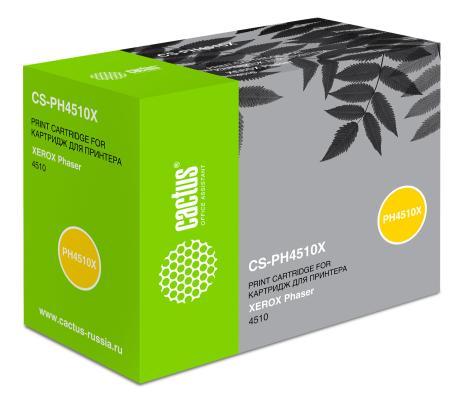 Тонер-картридж Cactus CS-PH4510X 113R00712 для Xerox Phaser 4510 черный 19000стр цена
