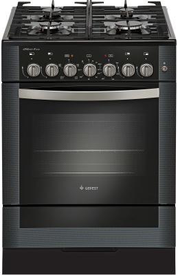 Комбинированная плита Gefest 6502-02 0044 черный газовая плита gefest 5502 02 0044 black
