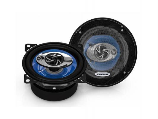 Автоакустика Soundmax SM-CSD403 коаксиальная 3-полосная 10см 52Вт-100Вт