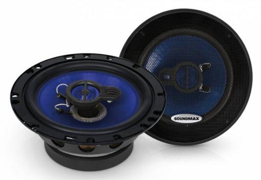 Автоакустика Soundmax SM-CSE603 коаксиальная 3-полосная 16см 110Вт-220Вт автоакустика soundmax sm cf502