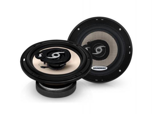 Автоакустика Soundmax SM-CSA603 коаксиальная 3-полосная 16см 90Вт-180Вт автоакустика soundmax sm cf502