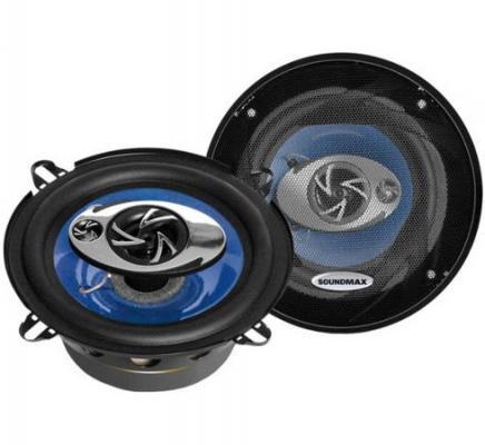 Автоакустика Soundmax SM-CSD503 коаксиальная 3-полосная 13см 60Вт-120Вт подушка 40х40 с полной запечаткой printio circle