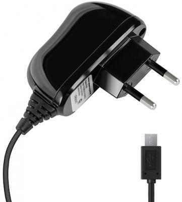 Сетевое зарядное устройство Deppa 23141 microUSB 2.1A черный сетевое зарядное устройство deppa 2 1a microusb 2xusb черный 11303