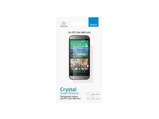 Защитная пленка Deppa для HTC One mini 2 прозрачная 61345 защитная пленка deppa для huawei ascend p7 прозрачная 61346
