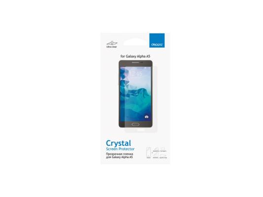 цена Защитная пленка Deppa для Samsung Galaxy Alpha A5 прозрачная 61366