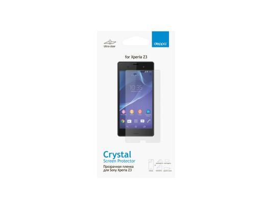 Защитная пленка Deppa для Sony Xperia Z3 прозрачная 61354