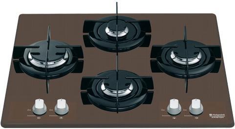 Варочная панель газовая Ariston HTD 640S (CF) IX/HA коричневый