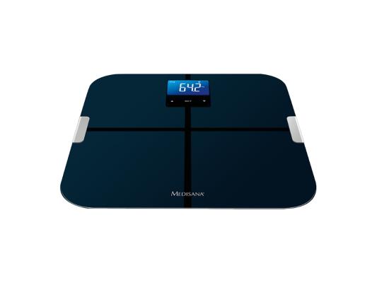 Весы напольные Medisana BS 440 Connect чёрный весы напольные medisana 40470 pss чёрный