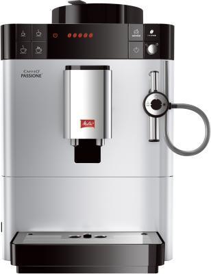 Кофемашина Melitta Caffeo Passione F 530-101 серебристый кофемашина melitta caffeo passione f 530 101 серебристая черная