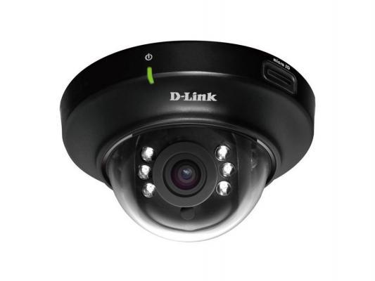 "Камера IP D-Link DCS-6004L/A1A/A2A CMOS 1/4"" 1280 x 800 H.264 MJPEG MPEG-4 RJ-45 LAN PoE черный белый"