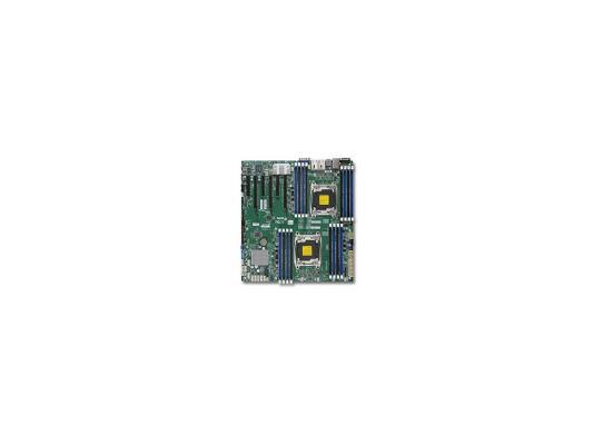 Материнская плата для ПК Supermicro X10DRI-T Socket 2011-3 C612 16xDDR4 3xPCI-E 16x 10xSATAIII EATX Retail