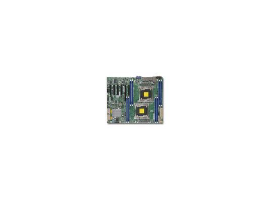 Мат. плата для ПК Supermicro MBD-X10DRL-I-O 2 х Socket 2011-3 C612 8xDDR4 1xPCI-E 16x 5xPCI-E 4x 10xSATAIII ATX Retail mcp23017 e sp dip28 i o
