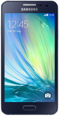"Смартфон Samsung Galaxy A3 Duos черный 4.5"" 16 Гб NFC GPS LTE Wi-Fi SM-A300F"