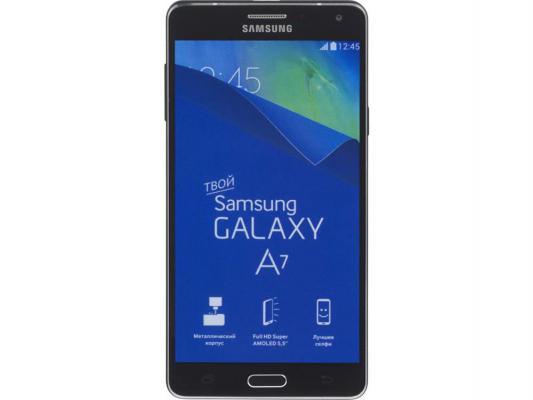 "Смартфон Samsung Galaxy A7 Duos черный 5.5"" 16 Гб LTE NFC Wi-Fi GPS SM-A700FD"