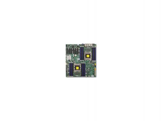 Материнская плата для ПК Supermicro MBD-X9DRD-EF-B 2 х Socket 2011 C602J 16хDDR3 — — — 4xSATA II 2xSATAIII EATX Retail