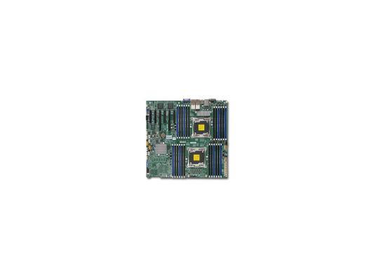 Мат. плата для ПК Supermicro MBD-X10DRI-LN4+-O 2 х Socket 2011-3 C612 24xDDR4 2xPCI-E 16x — — — 10xSATAIII EATX Retail
