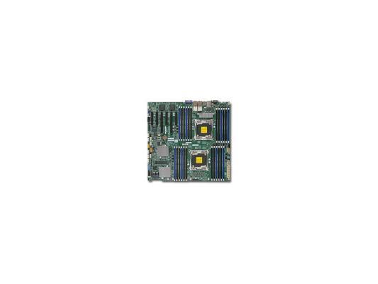 Материнская плата для ПК Supermicro MBD-X10DRC-LN4+-O 2 х Socket 2011 C612 24xDDR4 2xPCI-E 16x — — — 10xSATAIII EATX Retail