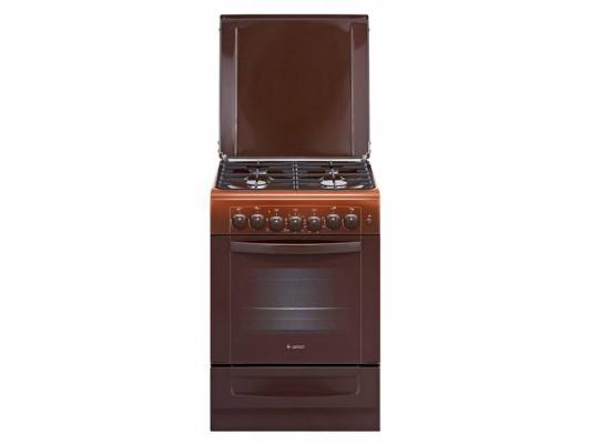 Комбинированная плита Gefest ПГЭ 6102-02 0001 коричневый комбинированная плита gefest пгэ 6102 02 0001