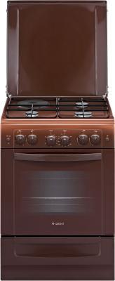 Комбинированная плита Gefest ПГЭ 6111-02 0001 коричневый минипечь gefest пгэ 120 пгэ 120