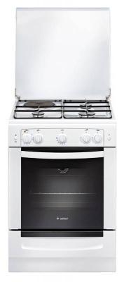 Комбинированная плита Gefest ПГЭ 6110-01 белый комбинированная плита deluxe 506031 01 гэ крышка