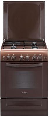 Комбинированная плита Gefest ПГЭ 6110-02 0001 коричневый комбинированная плита gefest 6110 02 0001