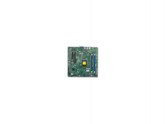 Материнская плата для ПК Supermicro MBD-X10SLL-S-B Socket 1150 C222 2xDDR3 1xPCI-E 16x — — — 2xSATA II 2xSATAIII mATX