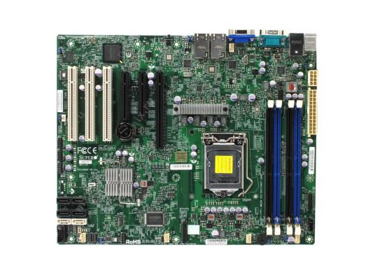 Материнская плата для ПК Supermicro MBD-X9SCE-F-B Socket 1155 C204 4xDDR3 1xPCI-E 16x — — — 4xSATA II 2xSATAIII ATX Retail