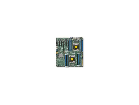 Мат. плата для ПК Supermicro MBD-X10DRH-I-O 2 х Socket 2011-3 C612 16хDDR3 1xPCI-E 16x — 10xSATAIII EATX Retail