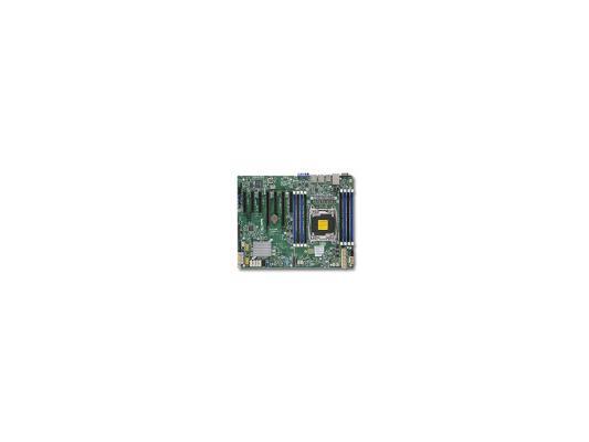 Мат. плата для ПК Supermicro X10SRL-F Socket 2011-3 C612 8xDDR4 — — — 10xSATAIII ATX Retail
