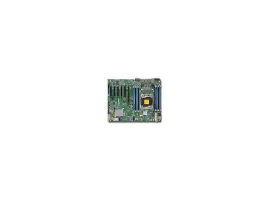 Материнская плата для ПК Supermicro MBD-X10SRI-F-O Socket 2011 C612 8xDDR4 1xPCI-E 16x 2xPCI-E 4x — 10xSATAIII ATX материнская плата supermicro mbd x10sra o socket 2011 3 c612 8xddr4 4xpci e 16x 2xpci e 1x 10xsataiii atx