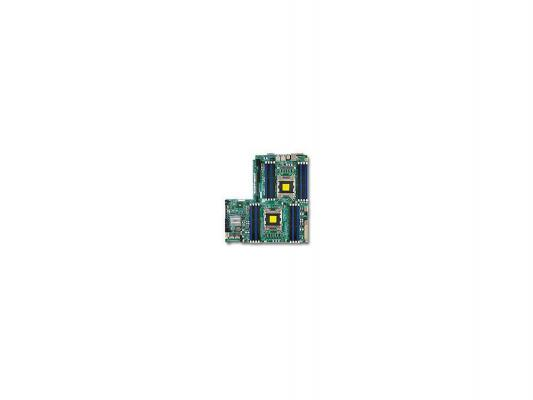 Материнская плата Supermicro MBD-X9DRW-3F-O 2xLGA2011 C606 16xDDR3 1xPCI-E 32x 4xSATA2 2xSATA3 VGA IPMI 2xGLAN Retail