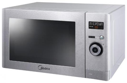 СВЧ Midea AG823A3V 800 Вт серебристый