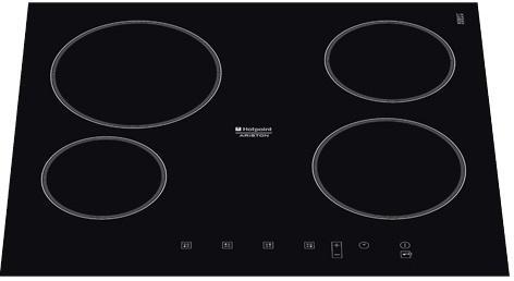 Варочная панель электрическая Ariston 7HKRD 640 B RU/HA черный