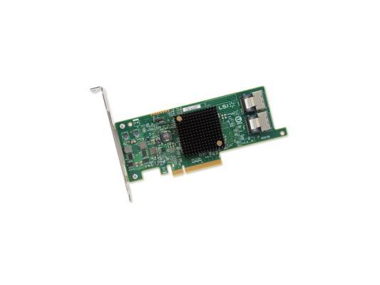 Контроллер LSI SAS 9207-8i SGL LSI00301 недорого