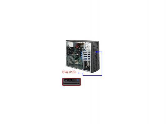 Серверный корпус E-ATX Supermicro CSE-732I-865B 865 Вт чёрный корпус supermicro cse 743tq 865b
