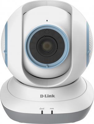 "Камера IP D-Link DCS-855L CMOS 1/4"" 1280 x 720 H.264 Wi-Fi белый"