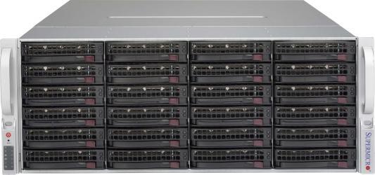 Серверный корпус 4U Supermicro CSE-846BE16-R1K28B 1280 Вт чёрный