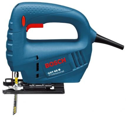 Лобзик Bosch GST 65 B 780Вт лобзик bosch gst 65 b professional 0601509120