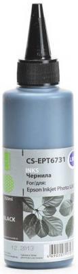 Заправка Cactus  CS-EPT6731 для Epson L800 черный 100мл