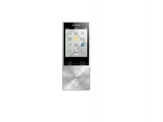 Плеер Sony NWZ-A15 16Гб серебрянный