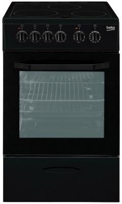 Электрическая плита Beko CSS 48100 GA черный электрическая плита beko css 48100 gs