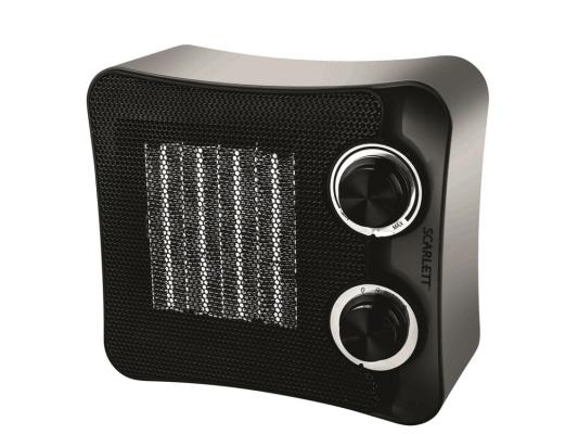 Тепловентилятор Scarlett SC-FH53K02 — чёрный машинка для снятия катышков scarlett sc 920 [sc 920]