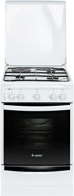 Комбинированная плита Gefest ПГЭ 5110-01 0005 белый газовая плита gefest пгэ 5110 02 газовая духовка белый