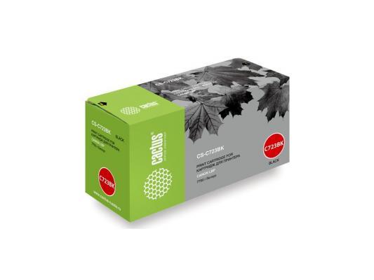 Картридж Cactus CS-C723BK для Canon LBP 7750 i-Sensys черный 5000стр принтер canon i sensys colour lbp653cdw лазерный цвет белый [1476c006]