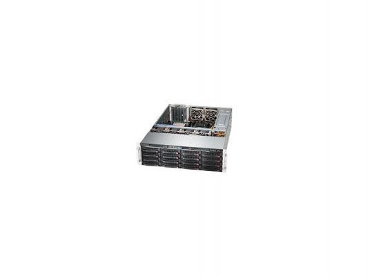 Серверный корпус 3U Supermicro CSE-836BE26-R1K28B 1280 Вт серебристый чёрный
