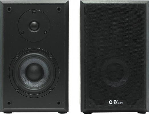 Колонки Dialog Blues AB-47B 2x18Вт RMS черный Bluetooth USB SD reader