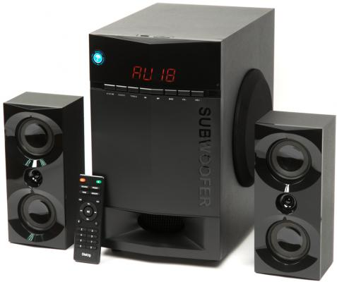 Колонки Dialog Progressive AP-230 2x15 + 35 Вт USB+SD reader черный