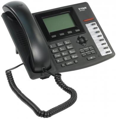 Телефон IP D-Link DPH-400S/F4A 2xLAN SIPv2 LCD display voip телефон d link dph 400se f4a