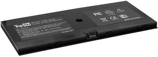 Аккумулятор для ноутбука HP ProBook 5310m, 5320m Series 2200мАч 14.8V TopON TOP-5310 аккумулятор для ноутбука hp compaq hstnn lb12 hstnn ib12 hstnn c02c hstnn ub12 hstnn ib27 nc4200 nc4400 tc4200 6cell tc4400 hstnn ib12